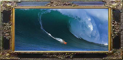 biggest wave poster ken bradshaw